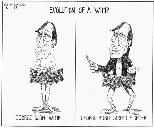 Bush I wimp