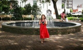 Morgan at eest fountain Johnson Sq