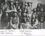 Ute Chief Colorow and some of his people.