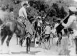 Actor Tom Mix starred in movies filmed in and around Glenwood Spings.