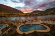 Iron Mountain Hot Springs is renowned for its resort and spa.